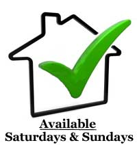 Available Saturdays and Sundays